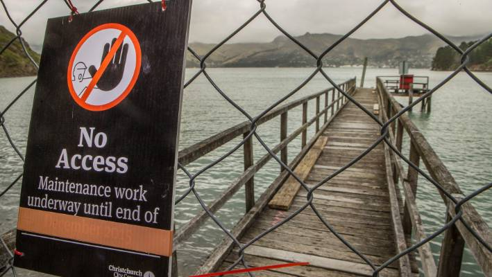 Residents muck in to save Banks Peninsula jetties | Stuff co nz