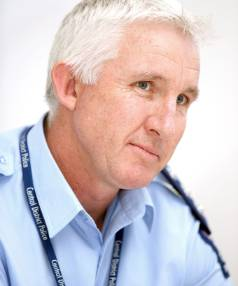"""Taranaki police area commander Inspector Keith Borrell. """"The feeling is that the streets are a lot safer out there."""""""