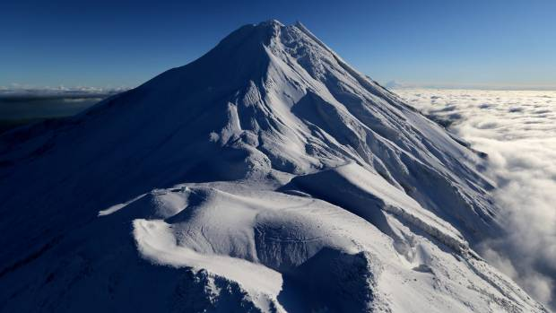 Climbing Mt Taranaki has proved fatal for one man. (File photo)