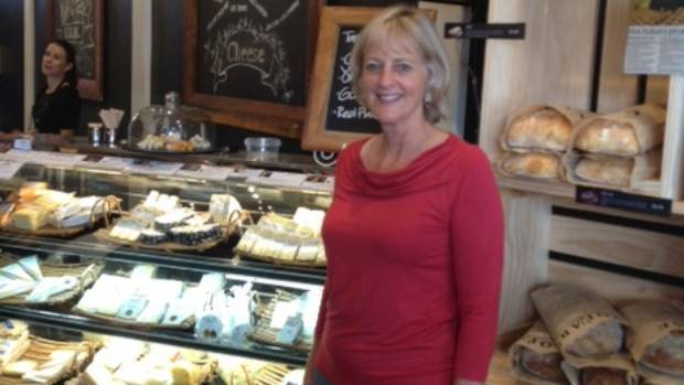Sue Arthur has opened Over the Moon Deli in Cambridge, selling her own cheeses and other artisan goodies.