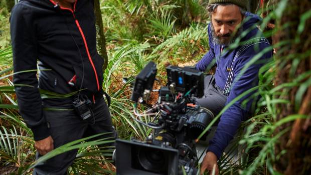 Five weeks of mud and snow for Taika Waititi and crew.