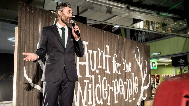 Taika Waititi introduces The Hunt For The Wilderpeople.
