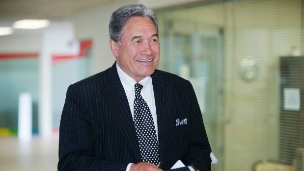 NZ First leader Winston Peters has reiterated his offer to work with National on passing RMA reforms.