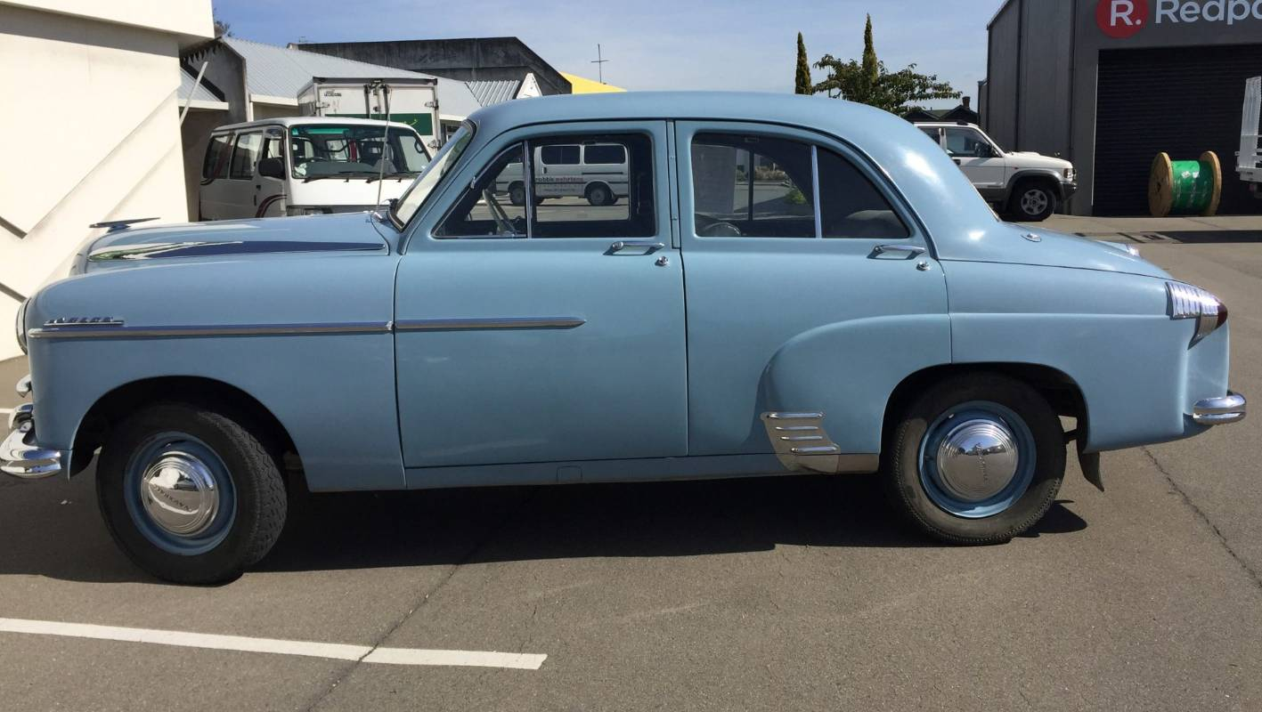 The 1954 Vauxhall Velox EIP is a user-friendly, classic says owner |  Stuff.co.nz