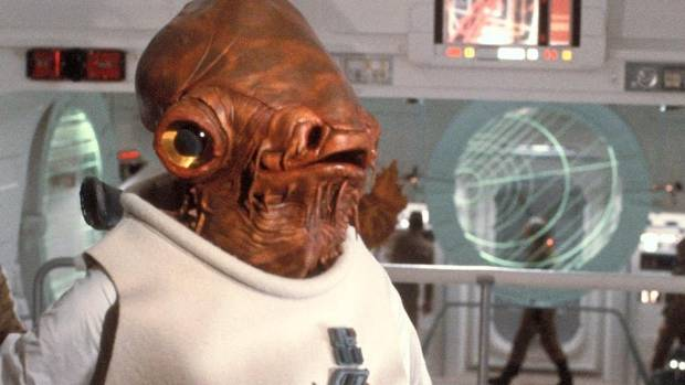 Admiral Ackbar is coming to a spin-off in a galaxy far, far closer than you think. Guess his catchphrase.