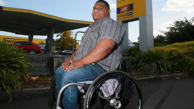 Terry Faleva'ai was at Pak'N Save Mill Street on Sunday evening and was shocked to see signs that said mobility cards ...