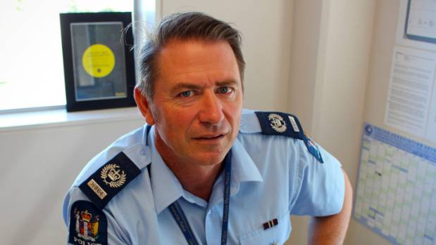 Senior sergeant Laurie Culpan of the Counties Manukau police.