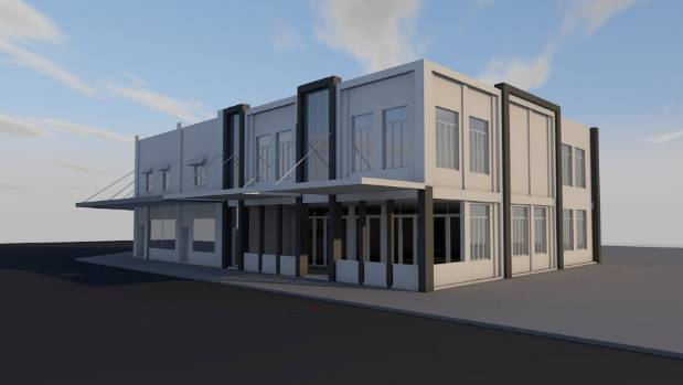 A new building, housing a restaurant and four office spaces, will be built at 2-6 Kitchener Rd in Sandringham.