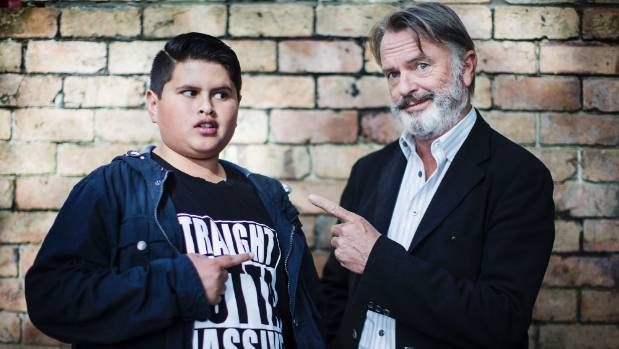 Julian Dennison and Sam Neill, the two leads of Taika Waititi's Hunt For The Wilderpeople.
