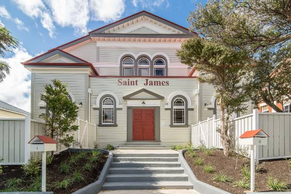 Divine intervention: Wellington's St James Church becomes