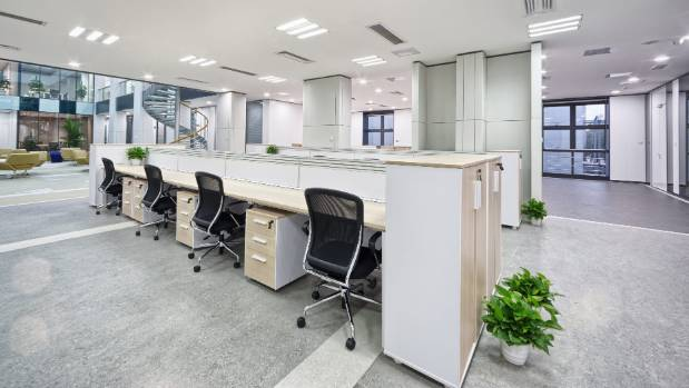 flexible office. bayleys commercial retail and operations director lloyd budd says millennials entering the workplace were driving flexible office e