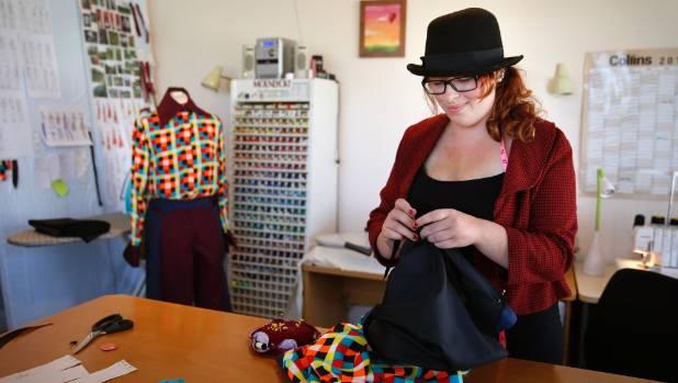 Waimate fashion designer Naomi White has set some big goals after establishing her own fashion business, Lida Fashion.