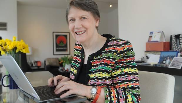 Former New Zealand Prime Minister Helen Clark in her New York apartment.