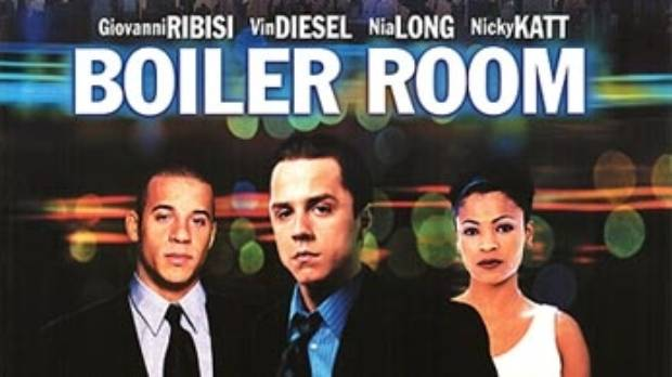Hollywood mad this movie about a Boiler Room scam.