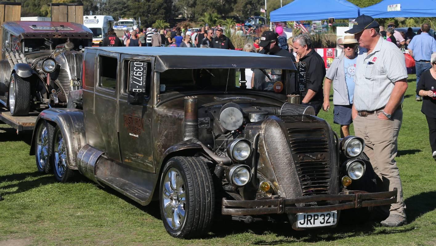 All American vehicle display draws car-loving crowd to ...