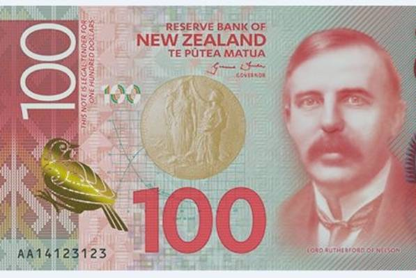 Front Of Nz S New 100