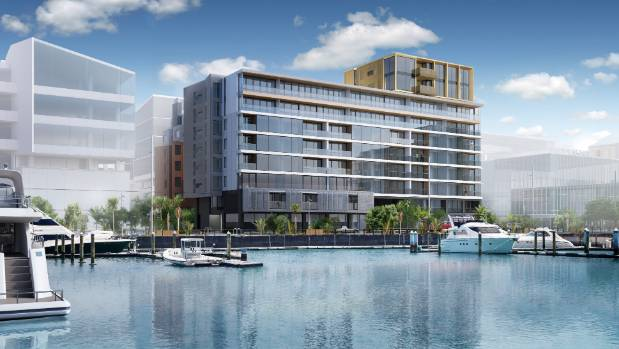 This new apartment building by Wynyard Quarter, 132 Halsey by Willis Bond & Co, will provide an on-site personal concierge.