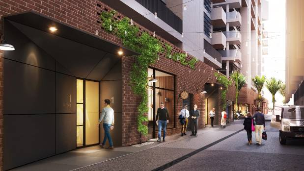 Wynyard Central by Willis Bond & Co is another new apartment development in Auckland that will provide a concierge.