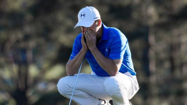 Jordan Spieth has unpleasant memories of his back nine in the final round of the 2016 Masters.