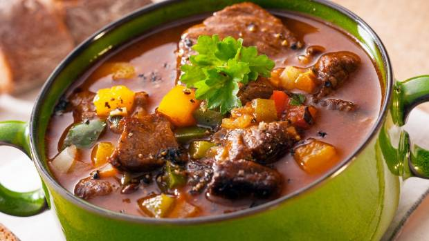 Try A Hot Pot Stew With Meat And Vegetables Stewed In Rich Gravy For