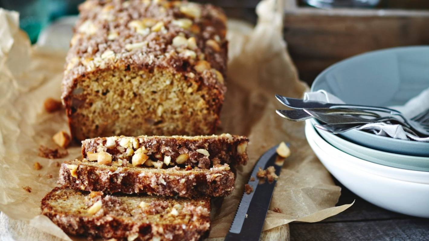 Loaf Cake Recipes Nz: Recipe: Parsnip And Macadamia Loaf