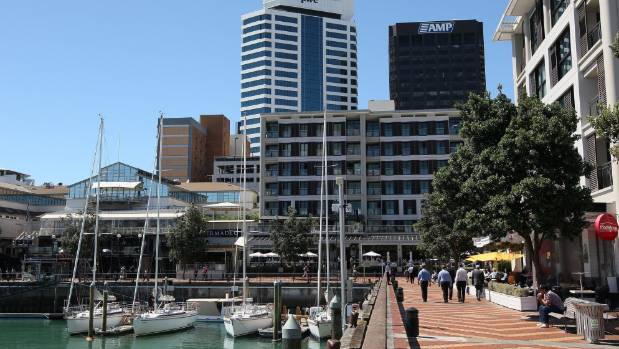 Auckland's Viaduct Basin is now apartments, hotels and a lively food and drink scene, replacing the old syndicate bases.