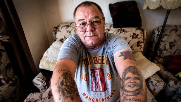 John Fairweather has four tattooed tributes on his arms, inked in memory of his wife Christine, who was killed in August ...