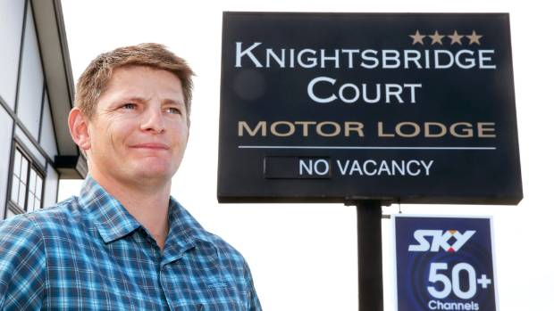 Marlborough Motel Association president and Knightsbridge Court Motor Lodge owner Richie Dickens.