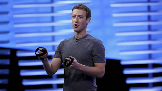 """Mark Zuckerberg at F8. """"I've never met anyone who likes calling businesses."""""""