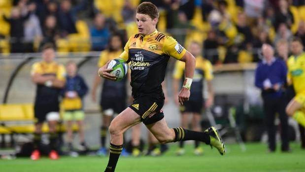 Beauden Barrett has landed 30 of his 45 kicks so far this Super Rugby season.