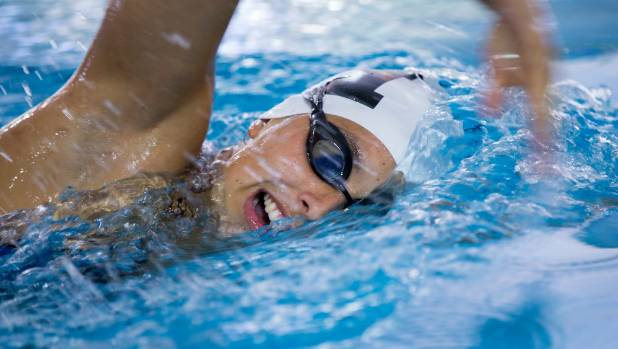 Palmerston north 39 s tracy keith matchitt olympic bound for cook islands for Palmerston north swimming pool