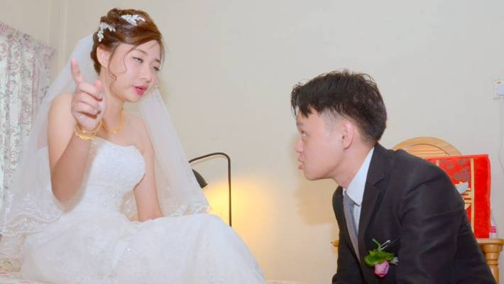 a120b160bd0 Worst wedding photos ever  Unhappy bride Jaclyn Ying shares awful ...