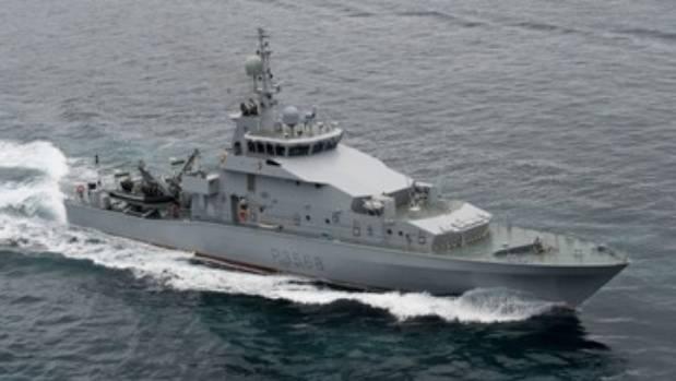 HMNZS Pukaki hasn't registered a sea day since 2012.