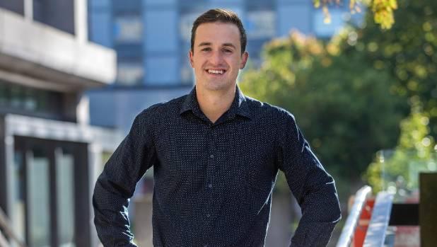 The new president of the University of Canterbury Students' Association, James Addington, has a big job ahead.