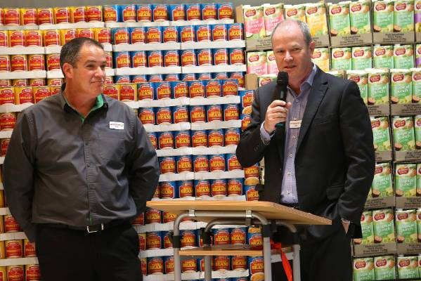 Group manager Craig Unsworth, left, and managing director Dave Chambers.