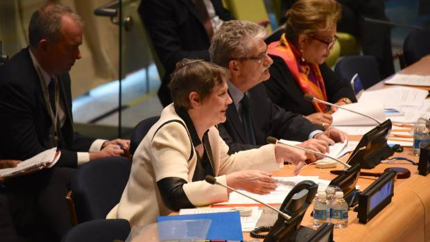 Helen Clark pitches for the UN's top job.