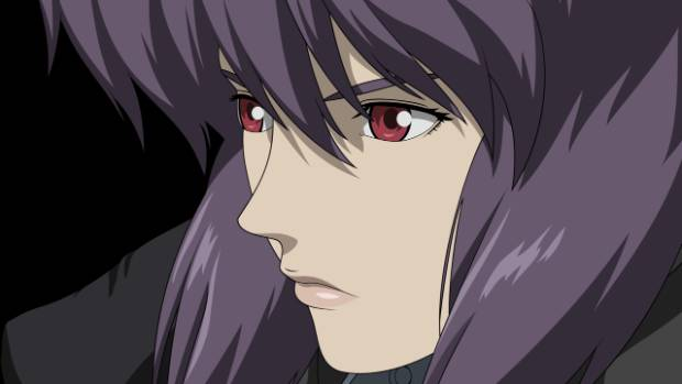Major Kusanagi from Japanese mange and anime, Ghost in the Shell.