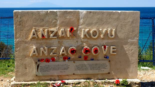 Anzac Cove is a place of pilgrimage for many New Zealanders and Australians.