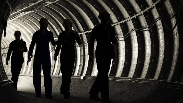 Scores of miners trapped underground at Platinum mine