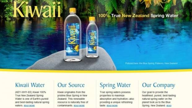Kiwaii Water - made in NZ, but sold in US.