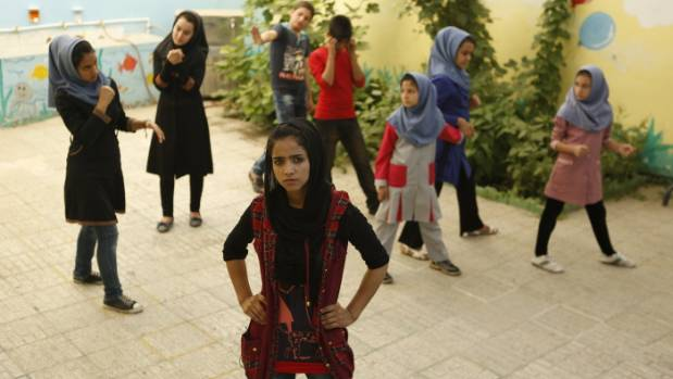 A scene from Rokhsareh Ghaemmaghami's film Sonita, which is included in the Documentary Edge festival.