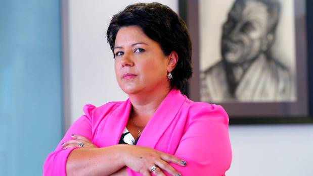 Associate Tourism Minister Paula Bennett isn't impressed by Wicked Campers vans.