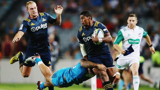 Waisake Naholo's most recent run in Super Rugby, the All Blacks wing fractured a leg during this movement against the ...