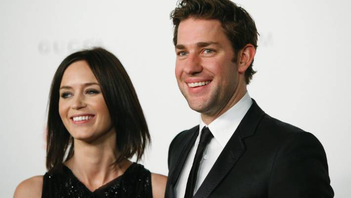 Emily Blunt mortified over husband John Krasinski's onstage