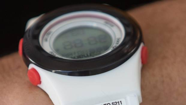 Mimark recognizer watches have a QR code that can be scanned with a cell phone to reveal personal and medical information.