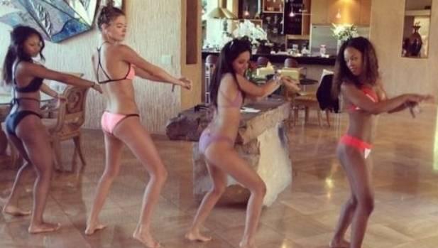 Lorde and Taylor Swift filmed a bikini dance in between Coachella performances.