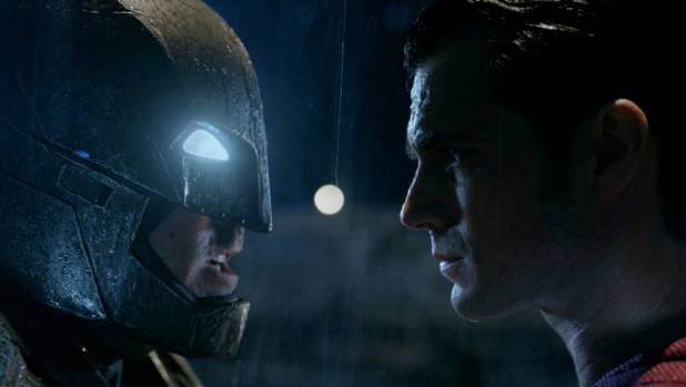 Ben Affleck and Henry Cavill in Batman vs Superman.