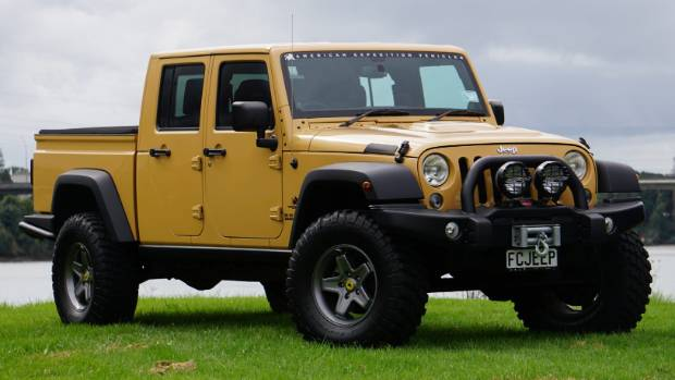 who needs a ranger or hilux when you can drive a jeep wrangler brute. Black Bedroom Furniture Sets. Home Design Ideas