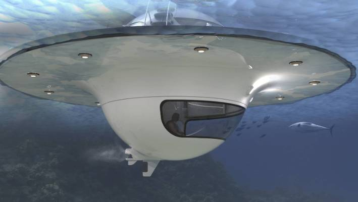 5cba1a72ee1be Underwater pods like flying saucers | Stuff.co.nz