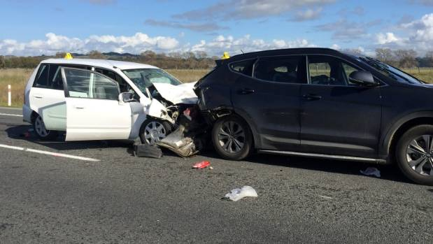 James Crous died in Napier after the car he was in crashed into a car in front.